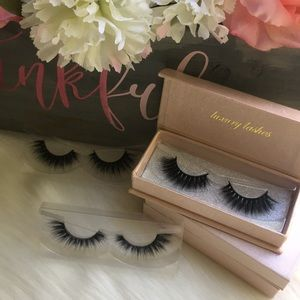 Other - 2 pack 100% Mink Lashes /Strip Lashes / Eyelashes